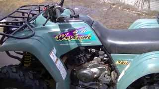 8. 1995 Yamaha Wolverine 350 Review