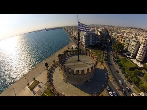 Thessaloníki Drone Video