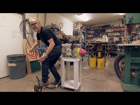 Adam Savage of MythBusters Builds an Elaborate Fart