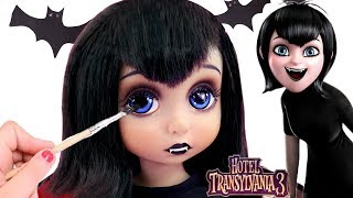 REPAINTING DOLLS | Hotel Transylvania 3 Marvis Custom Doll | Kids Makeup & Dress Up