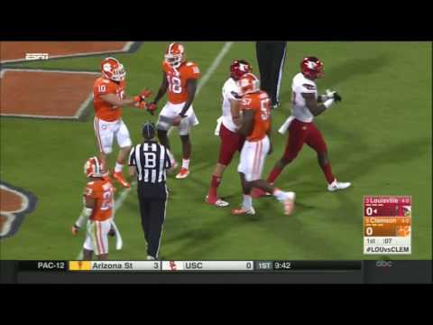 Louisville Cardinals at Clemson Tigers in 30 Minutes - 10/1/16 (видео)