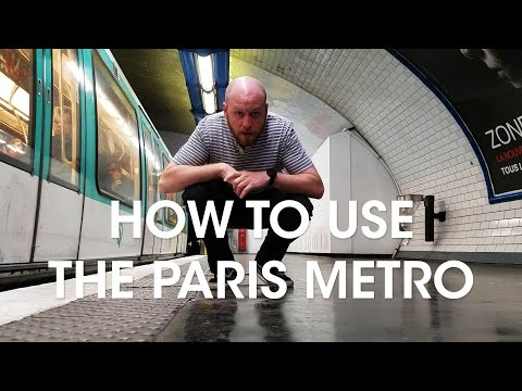 How To Use the Paris Metro - French Friday - LONG VERSION
