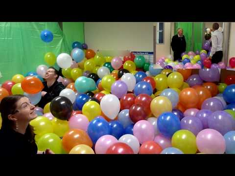 Balloon - Have you ever wondered what it would be like to play in a room filled with balloons? Our manager went away on holidays for a month and left his office unlock...