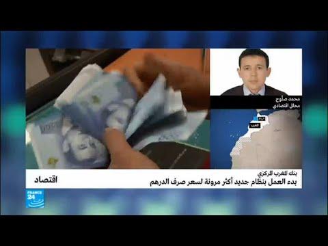 العرب اليوم - شاهد: بدء العمل بنظام جديد أكثر مرونة لسعر صرف الدرهم المغربي