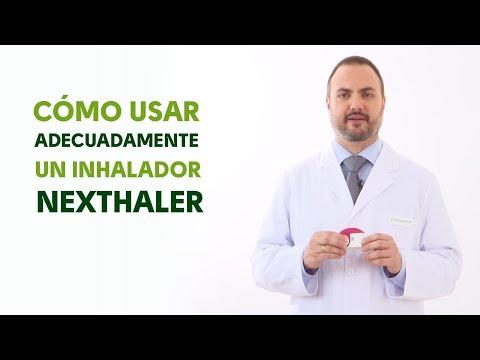 Cómo utilizar correctamente un inhalador NEXTHALER