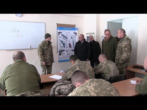 Іноземні експерти відвідали 199-й НЦ ВДВ ЗС України