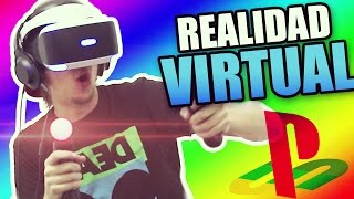 REALIDAD VIRTUAL EN PLAYSTATION!