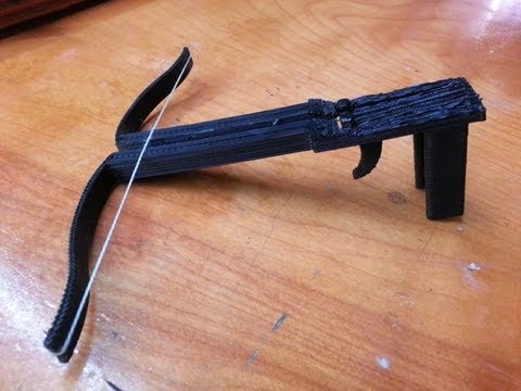 This One-Piece 3D-Printed Mini Crossbow Is Adorably Dangerous