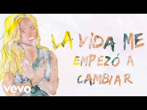Shakira  - Me Enamore (Lyric Video)