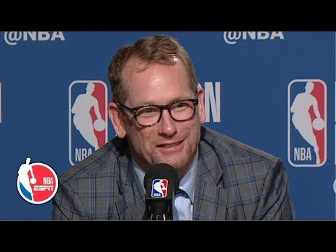 Nick Nurse On Kawhi Leonard: 'He's Just So Good' | 2019 NBA Playoffs