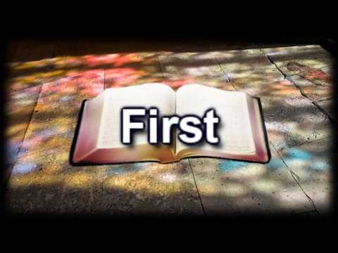 First - Lauren Daigle - Worship Video with lyrics