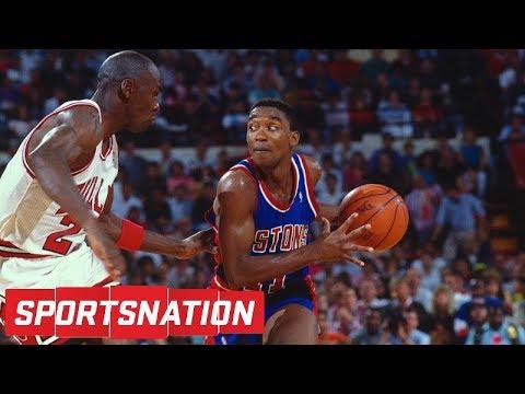 Isiah Thomas says LeBron James is better than Michael Jordan   SportsNation   ESPN