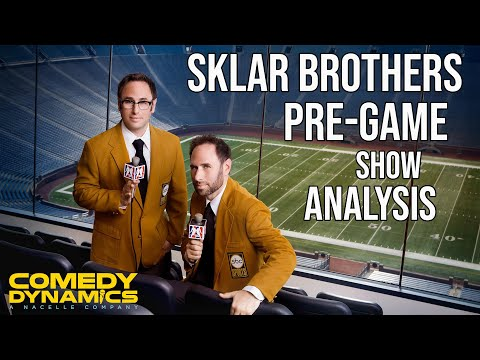 Sklar Brothers Pre-Game Show Analysis (Stand up Comedy)