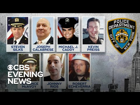 NYPD reeling after 9th officer suicide