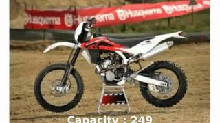 8. Husqvarna TE 250 Features & Specs