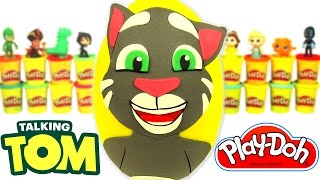 Video Talking Tom Sürpriz Yumurta Oyun Hamuru - Konuşan Kedi Tom Oyuncak Maşa MLP MP3, 3GP, MP4, WEBM, AVI, FLV November 2017