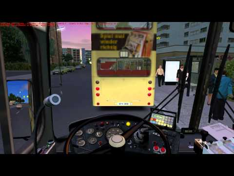 OMSI The Bus Simulator - Line 13N Summer Ticket Selling Gameplay HD