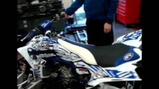 9. Revving the ATV World Laeger's Yamaha YZF450R - Part One