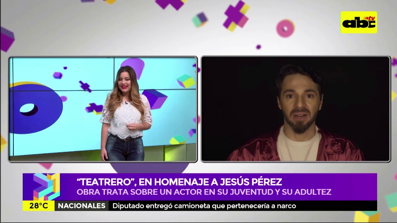 """Teatrero"" , en homenaje a Jesús Pérez"