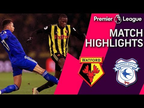Video: Watford v. Cardiff City | PREMIER LEAGUE MATCH HIGHLIGHTS | 12/15/18 | NBC Sports