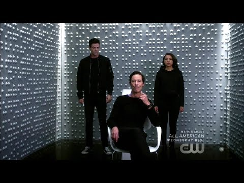 "The Flash 5x08 Thawne, Nora, Barry ""What's past is Prologue"" Season 5 Episode 8 Scene"