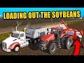Pulling The Beans Out Of The Bag Storage Amp Selling Leftover Grain  Farming Simulator 2017