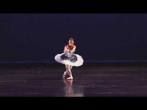 Watch video Down Syndrome Girl On Pointe Shoes