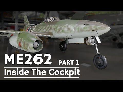 The Messerschmitt Me 262 is one...