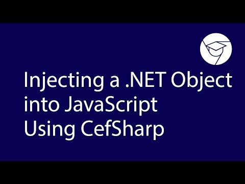 Videoguide | Injecting a .NET Object into JavaScript Using СefSharp thumbnail