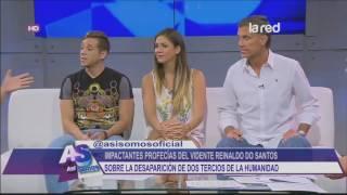 Profecías de Reinaldo Dos Santos TV de Chile - Super Impactantes