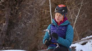 Petzl 2018 Ice Tools: Anne Gilbert Chase's First Impressions by WeighMyRack