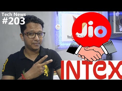 Tech News of The Day #203 - Jio INTEX Phone,Adhaar App,Mi TV 4A,Harry Potter,Nokia 8,Moto G5S Plus