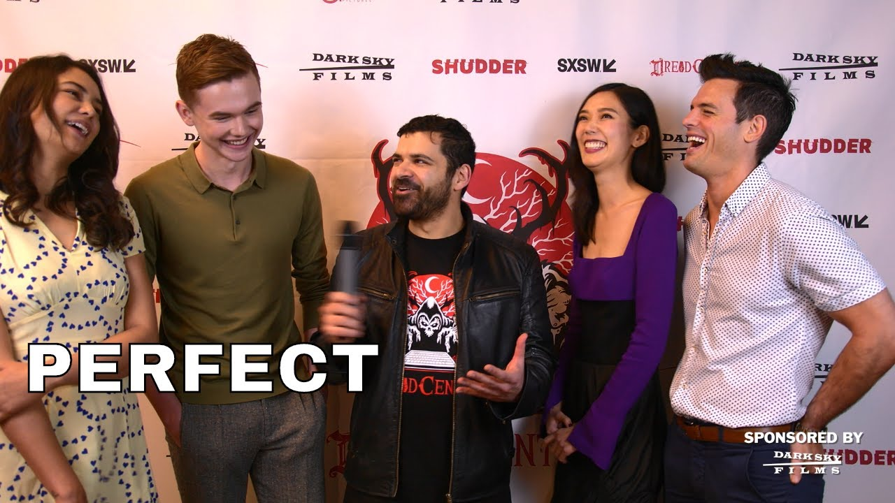 SXSW 2018 Interview Courtney Eaton, Garrett Wareing, Tao Okamoto, Chris Santos - Perfect