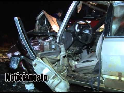 Colisão frontal entre veículos deixa um morto e três feridos em Lages