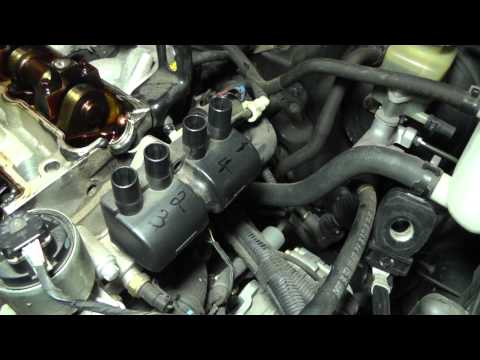 Suzuki Forenza Head Removal – Part 3 (Camshaft Cover Removal)