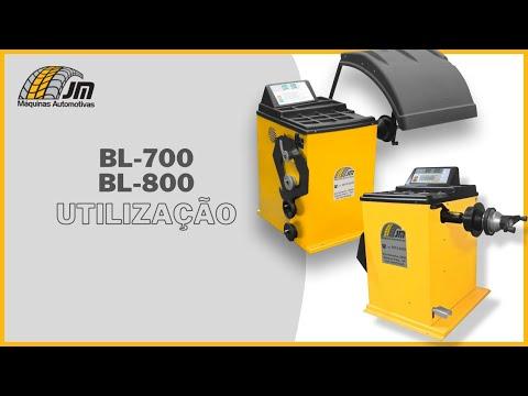BL 700 e BL 800 - Utilização