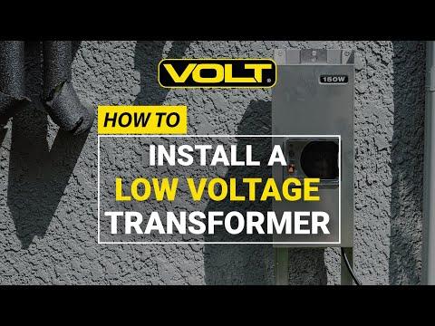 VOLT  University   low voltage landscape lighting transformer installationVOLT  Clamp Connect 300 Watt  12v 15v  Multi Tap Low Voltage  . Dimmable Led Landscape Lighting Transformer. Home Design Ideas