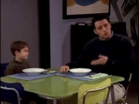 Friends en español - Friends - Joey y la sopa