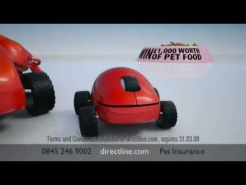Direct Line Pet Insurance - New TV Ad with Stephen Fry and Paul Merton