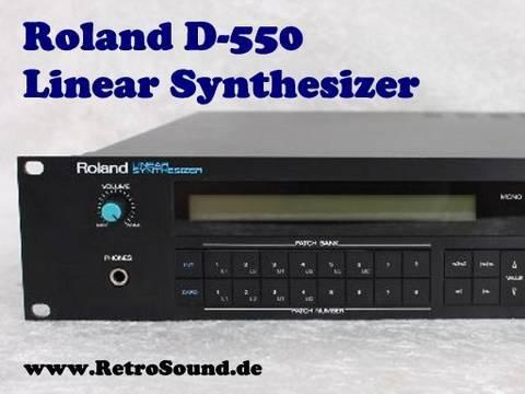 roland d 550 linear synthesizer synthtopia rh synthtopia com