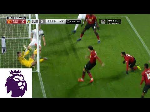 Video: Man United's Lindelof scores stoppage-time equalizer v. Burnley | Premier League | NBC Sports