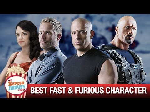 The BEST Fast and Furious Character Is...???