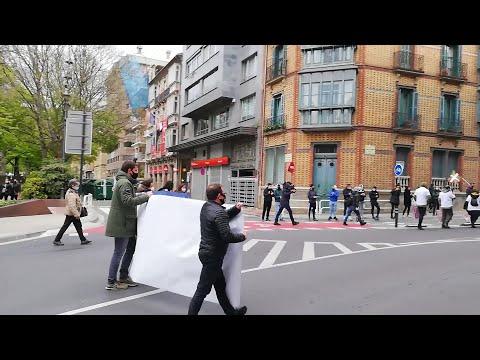 Sortu se moviliza en Pamplona en el Día Internacional del Preso Político