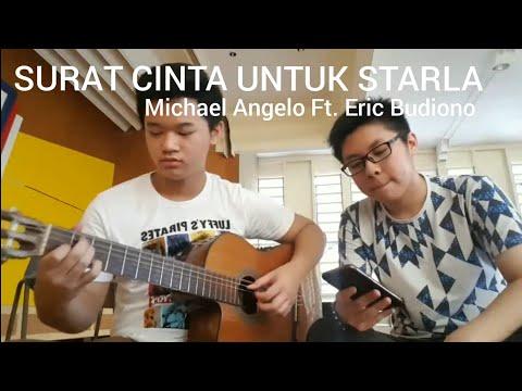 Surat Cinta Untuk Starla (Cover By Michael Angelo ft. Eric Budiono) #MiloNgover