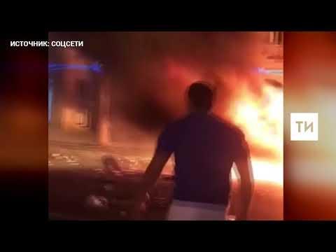 Появилось видео смертельной аварии на Кутузовском проспекте в Москве - DomaVideo.Ru
