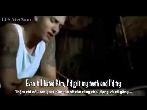 Lyrics+Vietsub Cleaning Out My Closet Eminem