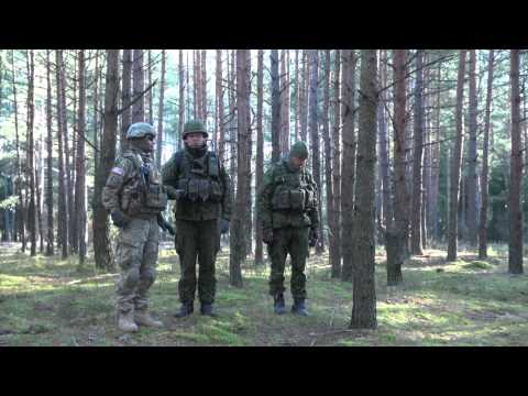 1st CAV. and Lithuanian Soldiers Take on Training Exercise Lanes