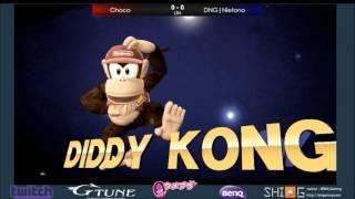 Umebura Genesis Cup LR6: Choco (ZSS) vs. DNG | Nietono (Diddy Kong)