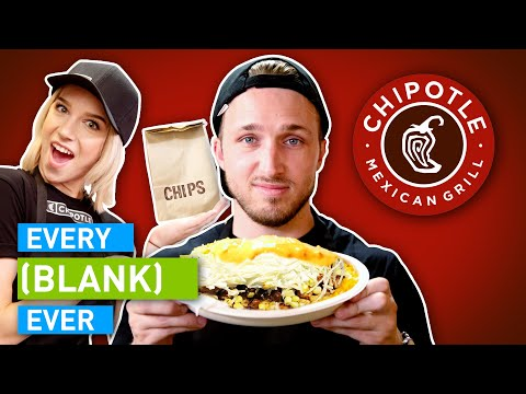 Download EVERY CHIPOTLE EVER HD Mp4 3GP Video and MP3