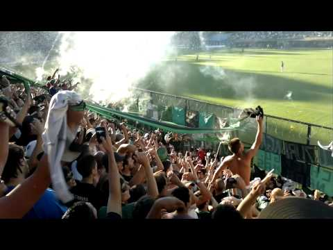 Video - Gimnasia Lp 4 - 0 Nueva Chicago - Terrible Fiesta Verdinegra - La Barra de Chicago - Nueva Chicago - Argentina